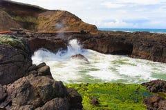 Παραλία του Όρεγκον στοκ εικόνες με δικαίωμα ελεύθερης χρήσης