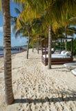 Παραλία του Playa del Carmen, Μεξικό στοκ εικόνες