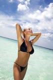 παραλία τροπική Στοκ φωτογραφίες με δικαίωμα ελεύθερης χρήσης