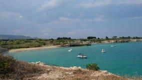 Παραλία των Συρακουσών στοκ φωτογραφίες