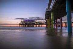 Παραλία Χάγη του Scheveningen Στοκ Εικόνες