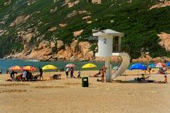 παραλία Χογκ Κογκ ο shek Στοκ φωτογραφία με δικαίωμα ελεύθερης χρήσης