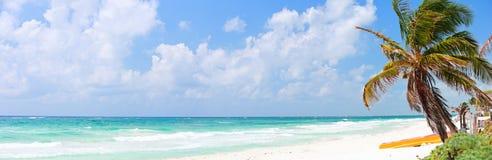παραλία όμορφες Καραϊβικέ& Στοκ εικόνες με δικαίωμα ελεύθερης χρήσης