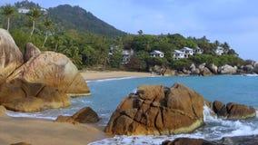 Παραλία όρμων κοραλλιών, Koh Samui, Ταϊλάνδη, Ασία φιλμ μικρού μήκους