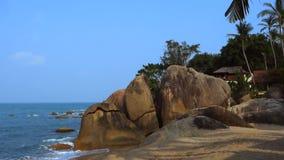 Παραλία όρμων κοραλλιών, Koh Samui, Ταϊλάνδη, Ασία απόθεμα βίντεο