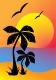 παραλία Απεικόνιση αποθεμάτων