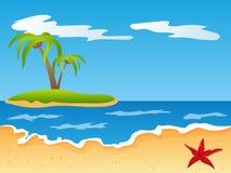 παραλία διανυσματική απεικόνιση