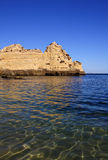 παραλία 7 Αλγκάρβε Στοκ φωτογραφία με δικαίωμα ελεύθερης χρήσης