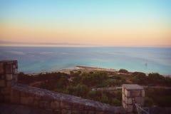Παραλία Afytos, Ελλάδα Στοκ φωτογραφίες με δικαίωμα ελεύθερης χρήσης