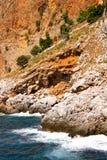 παραλία alania στοκ φωτογραφία