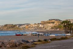 Παραλία Almuñecar στη Γρανάδα στοκ εικόνες με δικαίωμα ελεύθερης χρήσης