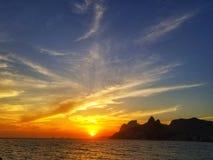 Παραλία Arpoador, Βραζιλία Στοκ εικόνα με δικαίωμα ελεύθερης χρήσης