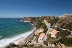 Παραλία Arrifana, Aljezur, Πορτογαλία Στοκ εικόνα με δικαίωμα ελεύθερης χρήσης