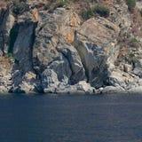 παραλία athos s Στοκ Φωτογραφίες