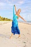 παραλία ballerina σύγχρονη στοκ εικόνες με δικαίωμα ελεύθερης χρήσης