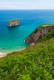 Παραλία Ballota στοκ εικόνα