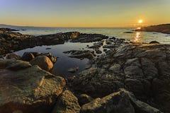 Παραλία Baynes στοκ φωτογραφίες με δικαίωμα ελεύθερης χρήσης