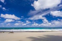Παραλία Bazarca Anse, Mahe, Σεϋχέλλες Στοκ φωτογραφίες με δικαίωμα ελεύθερης χρήσης