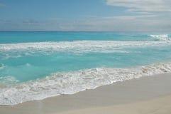 παραλία cancun Μεξικό Στοκ εικόνες με δικαίωμα ελεύθερης χρήσης