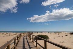 Παραλία Carabassi στοκ φωτογραφίες με δικαίωμα ελεύθερης χρήσης