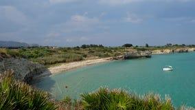Παραλία Cavagrande επιφύλαξης στοκ εικόνες