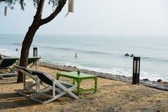Παραλία cha-AM Στοκ φωτογραφία με δικαίωμα ελεύθερης χρήσης