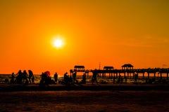 Παραλία Clearwater στοκ φωτογραφίες με δικαίωμα ελεύθερης χρήσης