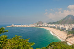 Παραλία Copacabana Στοκ Εικόνες