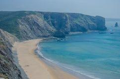 Παραλία DA Arrifana Praia κοντά σε Aljezur, Πορτογαλία Στοκ Εικόνα