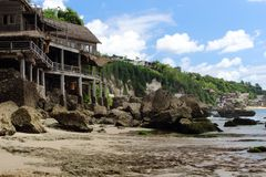 Παραλία Dreamland, Μπαλί, Ινδονησία Στοκ Εικόνες