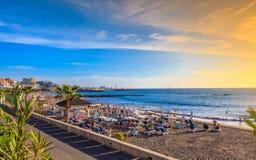 Παραλία Fanabe Tenerife στοκ εικόνες με δικαίωμα ελεύθερης χρήσης