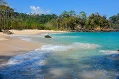 Παραλία Green Bay άποψης στοκ εικόνες