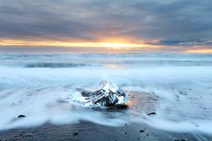 Παραλία Iceburg Στοκ Φωτογραφία