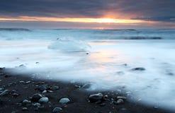 Παραλία Iceburg Στοκ Εικόνα