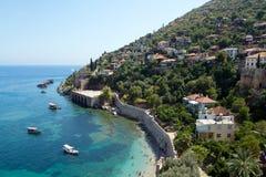 παραλία keykubat Τουρκία alanya Στοκ εικόνα με δικαίωμα ελεύθερης χρήσης