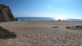 Παραλία Malibu Dume σημείου απόθεμα βίντεο