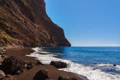 Παραλία Masca Tenerife στο νησί - καναρίνι Στοκ Εικόνα
