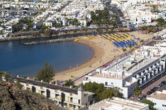 παραλία mogan στοκ φωτογραφία