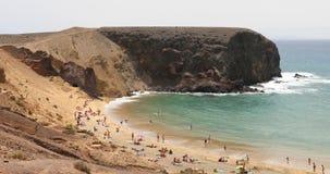 Παραλία Papagayo Playa, Lanzarote, Κανάρια νησιά, Ισπανία φιλμ μικρού μήκους