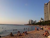 Παραλία Pattaya στοκ φωτογραφία με δικαίωμα ελεύθερης χρήσης