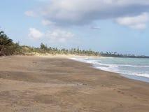 Παραλία Playa grande στοκ φωτογραφία με δικαίωμα ελεύθερης χρήσης