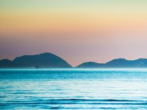 Παραλία Pui Ο στο Χονγκ Κονγκ Στοκ Εικόνες