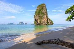 Παραλία Railay πρωινού, Krabi, Ταϊλάνδη στοκ εικόνες