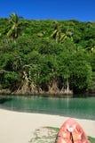 Παραλία Rincon Playa στη Δομινικανή Δημοκρατία Στοκ φωτογραφίες με δικαίωμα ελεύθερης χρήσης