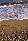 Παραλία Senigallia, Ιταλία, τα κύματα της αδριατικής θάλασσας στοκ εικόνα με δικαίωμα ελεύθερης χρήσης