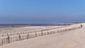 Παραλία Soulac sur mer στοκ φωτογραφία με δικαίωμα ελεύθερης χρήσης