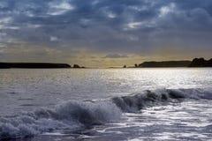 Παραλία Tenby, Ουαλία, UK, Ευρώπη Στοκ φωτογραφίες με δικαίωμα ελεύθερης χρήσης