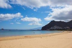 Παραλία Tenerife, Ισπανία Στοκ εικόνα με δικαίωμα ελεύθερης χρήσης