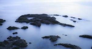 Παραλία Tenerife Κανάρια νησιά tenerife exposure long Στοκ Φωτογραφίες
