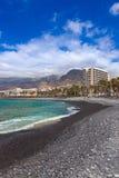 Παραλία Tenerife στο νησί - καναρίνι Στοκ φωτογραφία με δικαίωμα ελεύθερης χρήσης